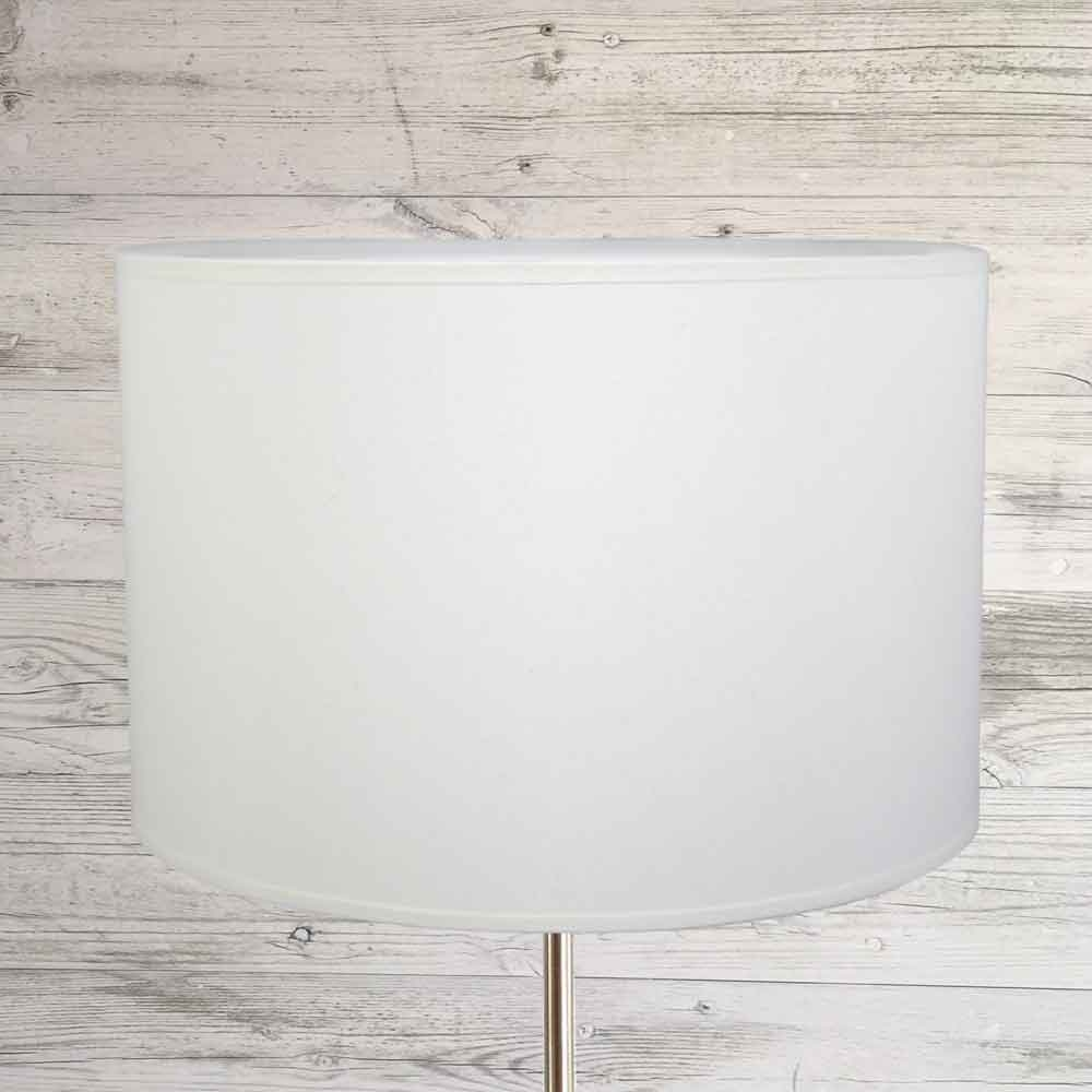 Drum Lampshade White